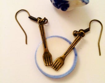Little Fork Earrings Eat Me!