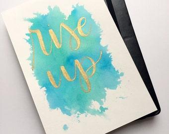 Rise Up Frameable Print