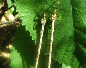 Lauhala earring (Long)