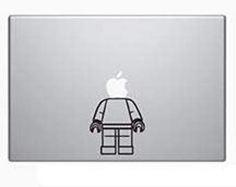 Laptop decal – Laptop Sticker – Macbook Pro decal – Macbook Air decal – Car window – Hipster - Track pad - Headless Lego guy