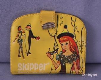 Vintage Skipper Masquerade Wallet, Yellow Version