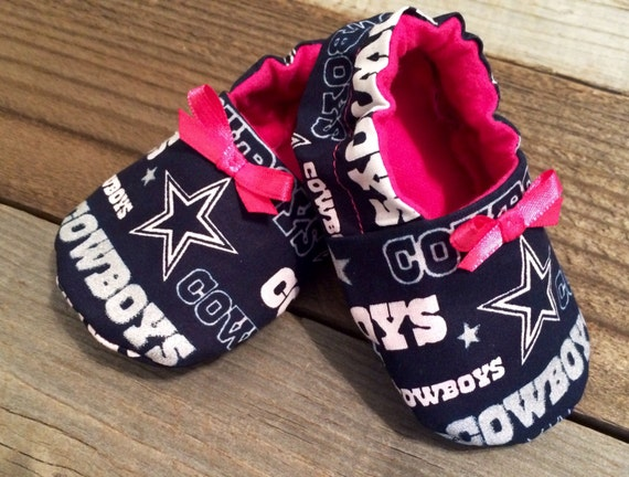 Dallas Cowboys Pink And Blue Baby Girl By Nikkisnicsandnacks
