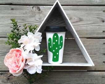 "Travel Mug - ""Cactus"""