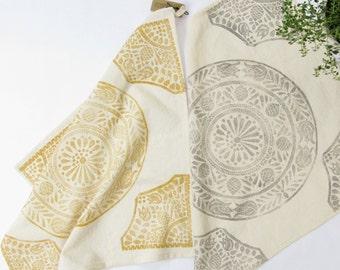 Tea Towel Safari Print