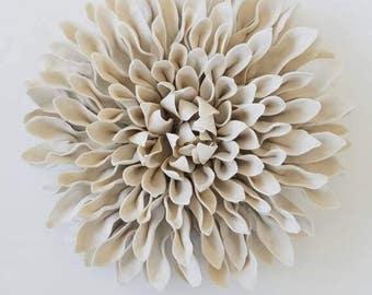 Unglazed umbra Flower