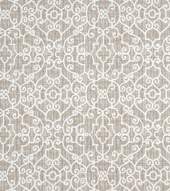 Taupe Gray Tan Contemporary Home Decor Fabric By The Yard Designer