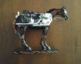 Trail of Painted Ponies Motorcycle Mustang