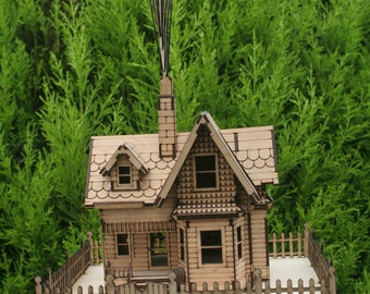 Miniature Up Model House kit 1.5mm Ply wood