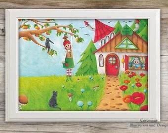 Artprint summer limited edition