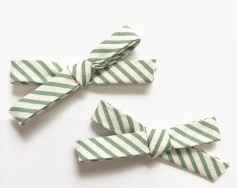 Muted Mint • headband, hair clip or piggie clip set