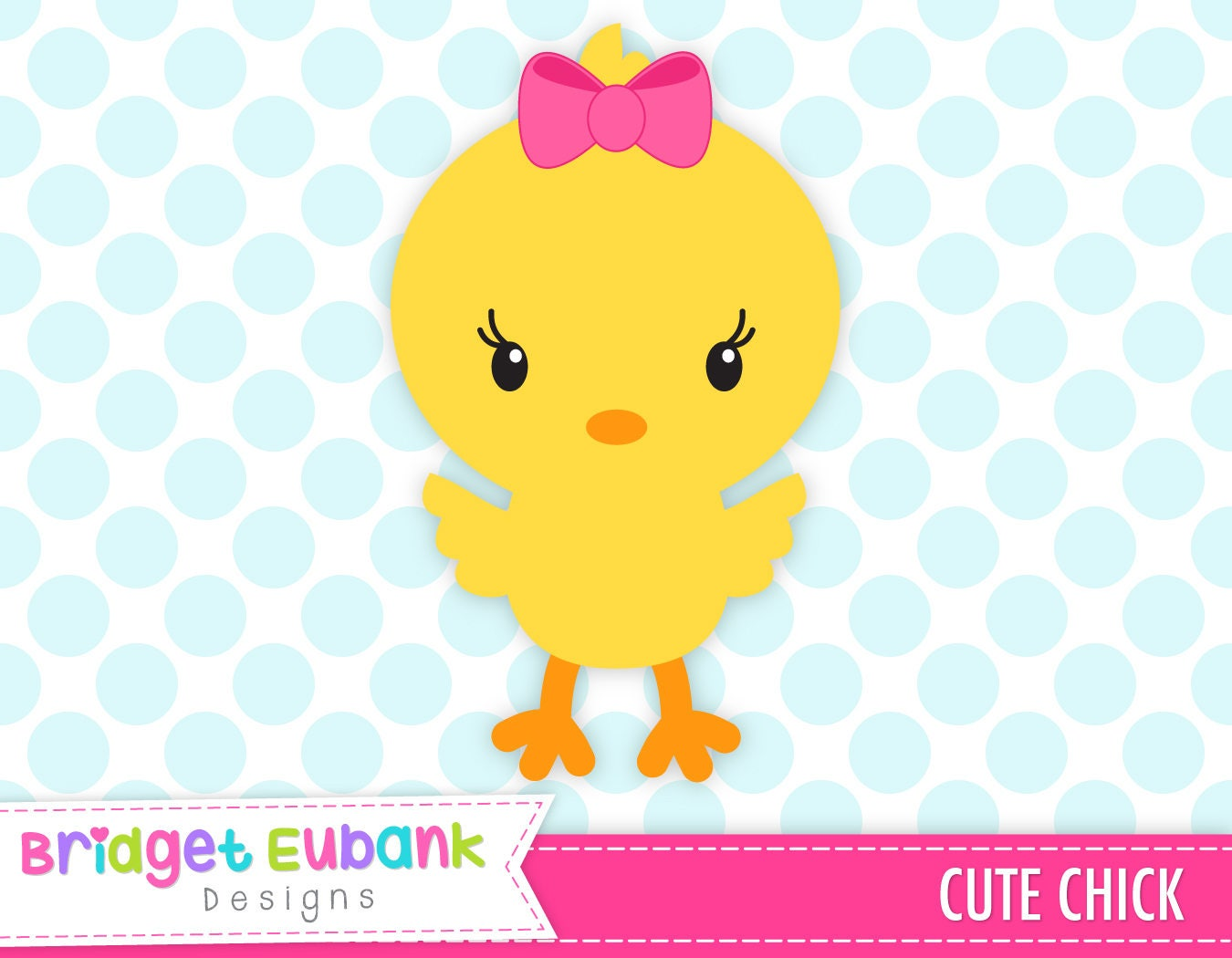 Easter chick clip art Easter clipart cute chick baby chick