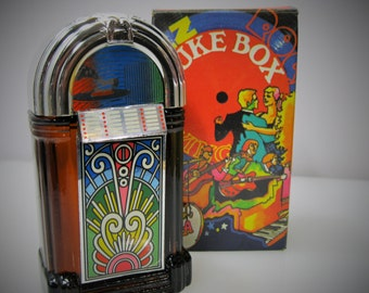 Avon Juke Box Decanter - Wild Country After Shave - NOS