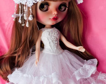 OOAK corset set for Blythe.