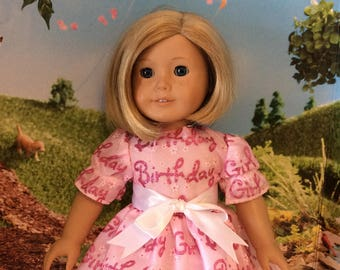 18inch Happy Birthday party dress