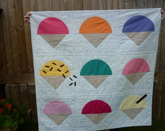 Anyone for ice-cream quilt pattern by Nellie's Niceties