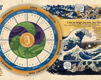 Liturgical Calendar - Wesley Bros Comics