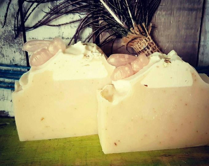 Oatmeal Goat milk & Honey Soap