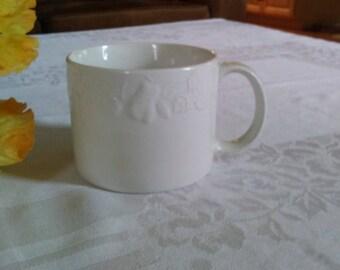Tabletops Unlimited 20 Oz Denmark Porcelain Latte Mugs Set Of 6