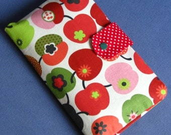 Diaper Clutch / Diaper Bag / Diaper Wipes Bag - apple