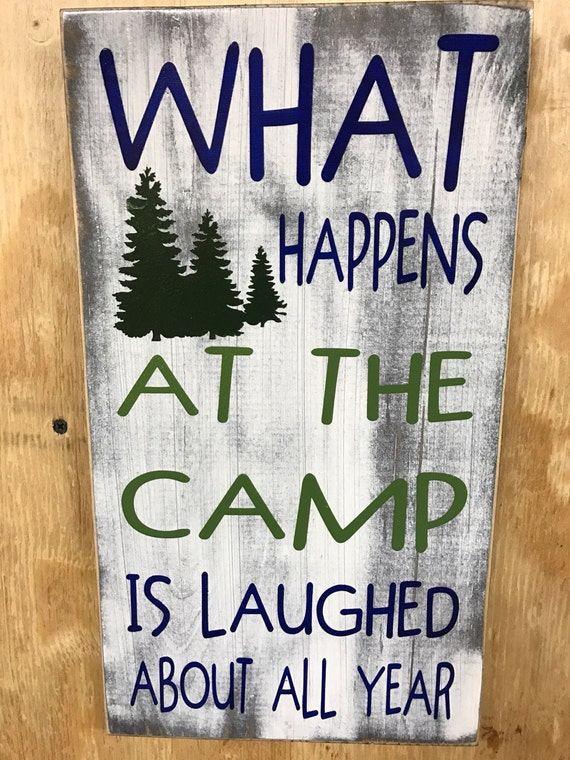 What happens at the camp is laughed about all year