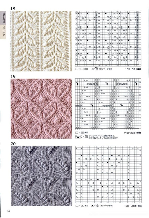 260 Knitting Patterns - Hitomi Shida - Japanese Knitting Book - Haute Couture...