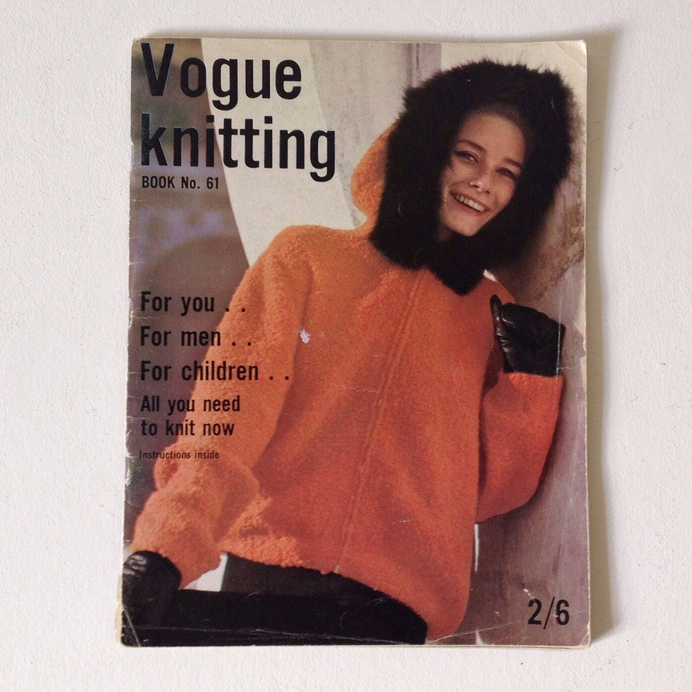 Vogue knitting 1962 cool vintage knitting patterns vintage knitting patterns vintage vogue knitting magazine number 61 1960s vogue sold by goodsgarb bankloansurffo Choice Image