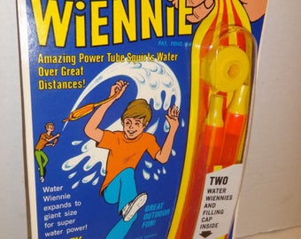 1972 Water Wiennie by Wham-O. Mint in Package NEVER Opened or used!