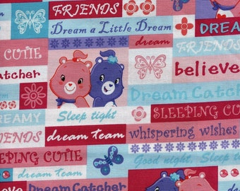 "Cranston ""Care Bears"" Dreamer Sleep Tight Fabric"