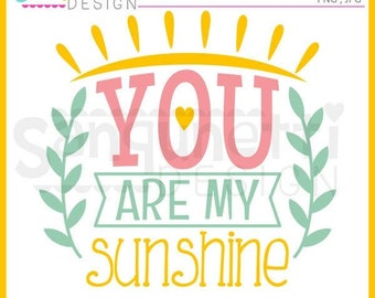 You are my sunshine, Sun clipart, sunshine clipart, summer clipart, instant download