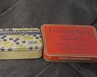 Old Advertising Tins Packaging