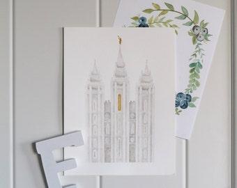 Salt Lake City Temple [Digital Download]