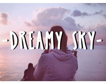 40 Dreamy Pink Pastel Sky Photoshop Overlays: Professional Photo Layer, Background Backdrops for photographers, Photoshoot Enhancement Tool