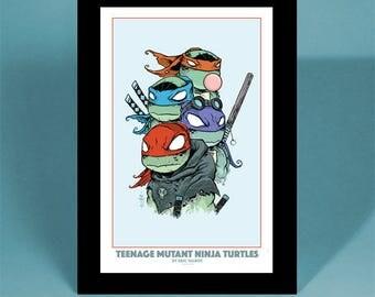 Teenage Mutant Ninja Turtles - 4 Color - Totem Print