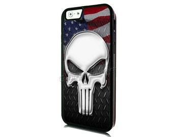 Punisher Skull iPhone 6 Case-iPhone 6 Plus