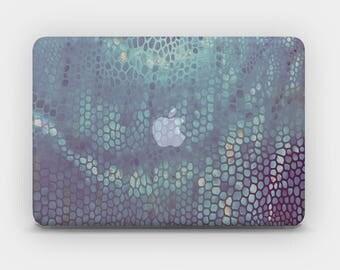 Transparent MacBook Skin MacBook Sticker MacBook Decal Laptop Skin  MacBook Air  MacBook Pro  – Space Snake