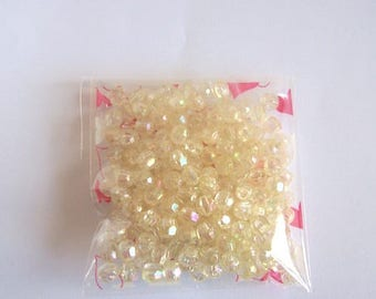 crystal beads clear crystal beads small clear beads tube of beads 6mm