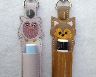 Owl and Fox Lip Balm Holders