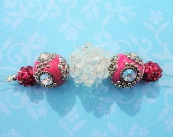 Indonesian Mini Strand - Pink