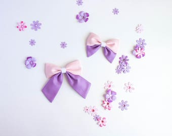Tangled Bow, Rapunzel Bow, Disney Bow, Minnie  Bow, Toddler Bow, Baby Bow