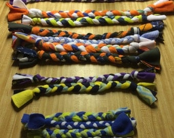 Braided Fleece Dog Toys