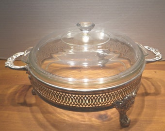 Silver Plated Serving Dish 8.5""