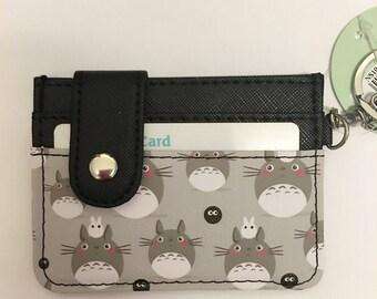 My neighbour totoro studio Ghibli Credit debit card holder purse keyring charm
