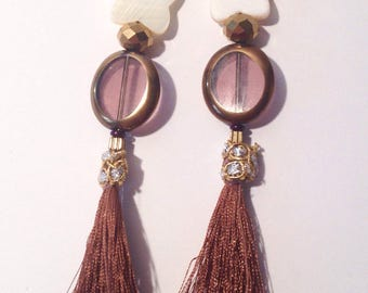 Earrings tassel Butterfly