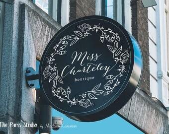 Custom Logo Design Hand Drawn Style Logo Design Website Logo Blog Logo Business Logo Boutique Logo Branding Photography Logo Design 標誌設計