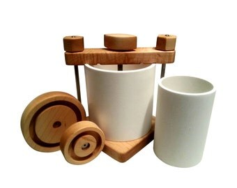 Ultimate Cheese Press with Hard Maple