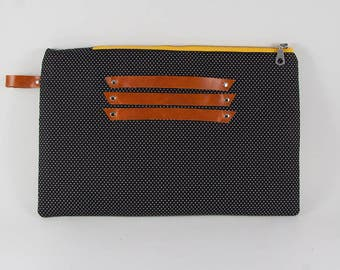 Ipad Sleeve/Nexus Sleeve/Tablet Sleeve/Tablet Clutch/ Zippered Pouch/Military Style Clutch/Pouch/Ipad Case