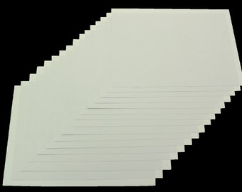 Recycled A5 White Craft Card 100 Sheets 220gsm White Card Stock
