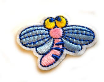Embroidered Bug Patch Appliqué