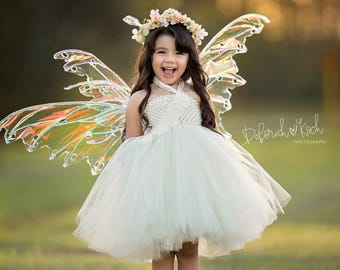 Fairy Tutu Dress, Birthday Tutu, Party Dress, Clothing, Fairy Costume, Halloween Costume, Garden Party, Tutus, Dress Up, Flower Girl Tutu