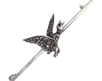 Bird Tie Pin